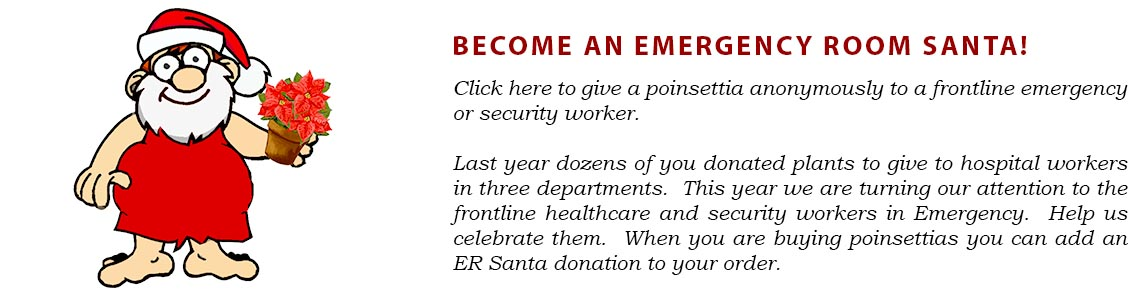 Be An ER Santa